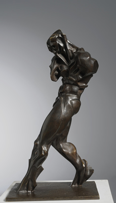 Le marcheur (bronze)